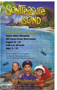 VACATION BIBLE SCHOOL @ Exeter Bible Fellowship